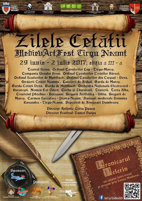 Festivalului Zilele Cetății MedievArtFest Târgu Neamț