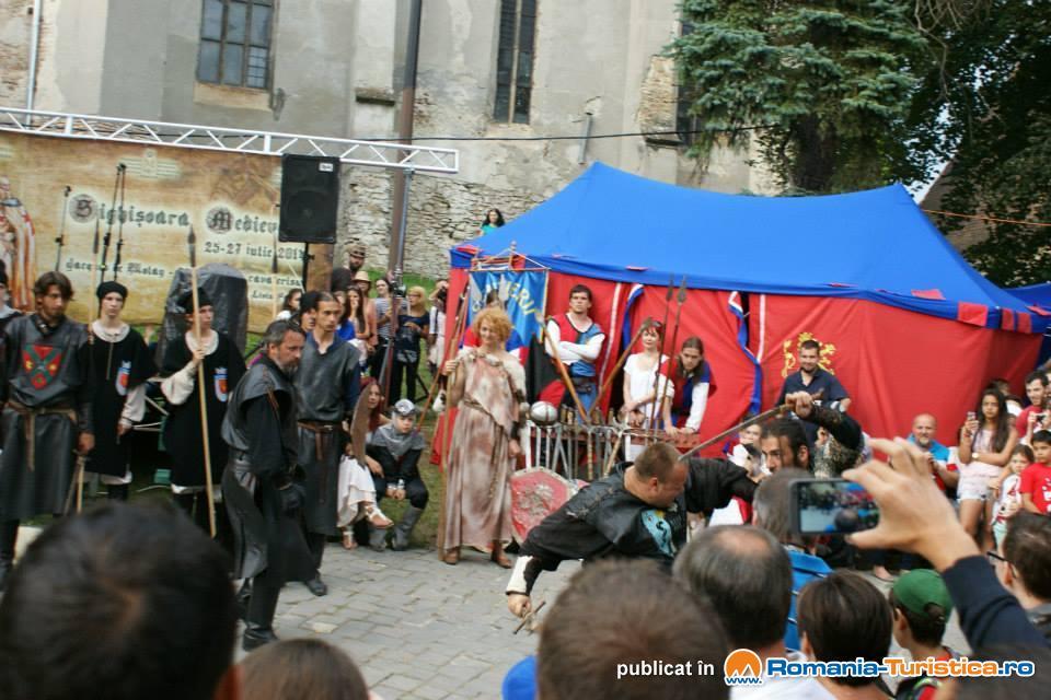 Galerie foto Festivalul Medieval Sighisoara 2014
