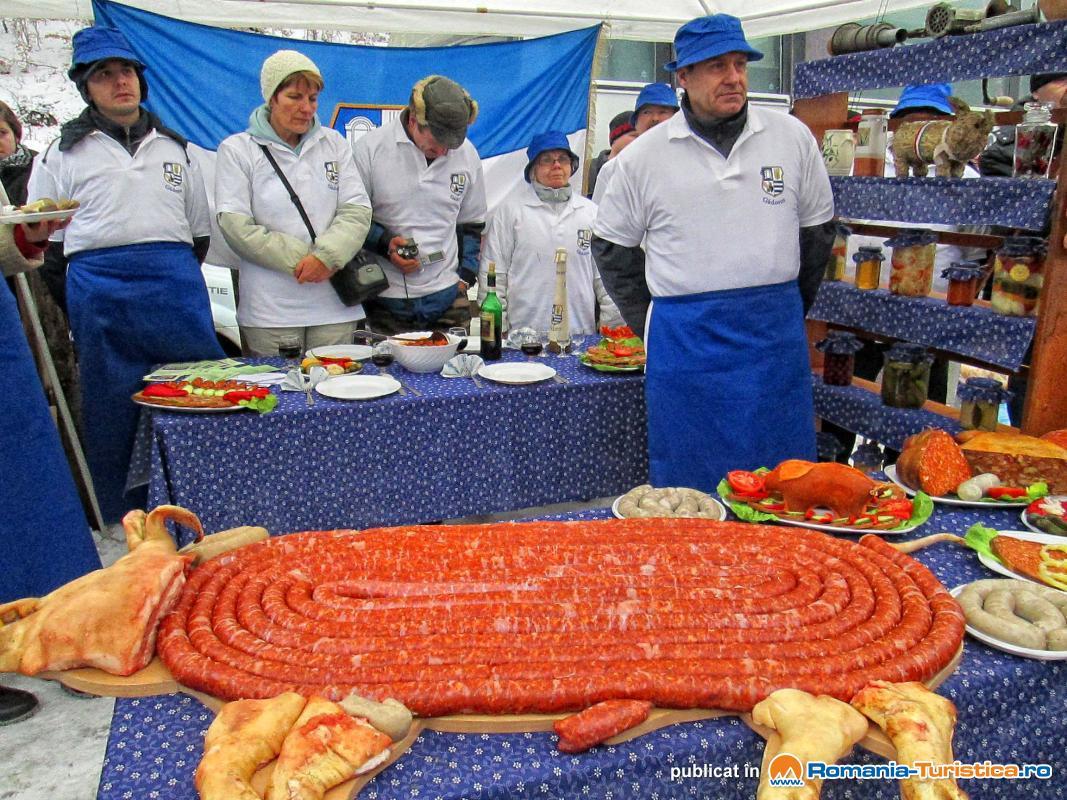 Festivalul Gastronomic Pomana Porcului Baile Balvanyos