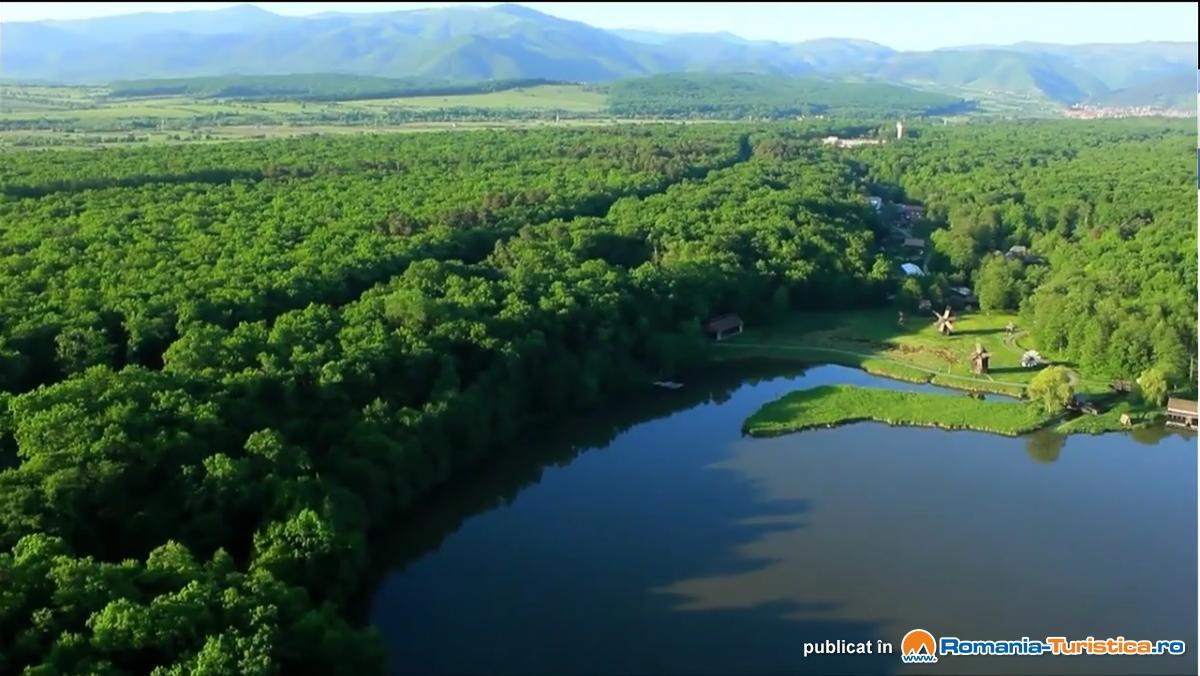 aerial drone photo romania