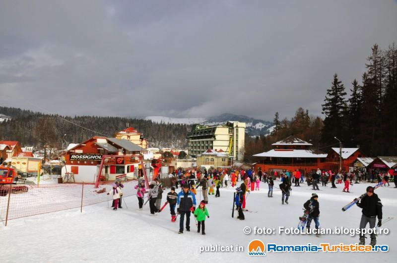 Serbarile Zapezii - Vatra Dornei 2014 - partia de schi