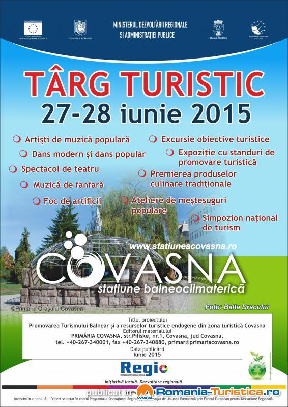 Targul de Turism Covasna 27-28 iunie 2015